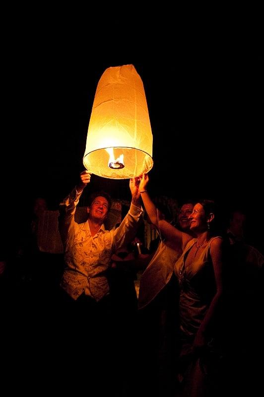 wedding lantern photograph