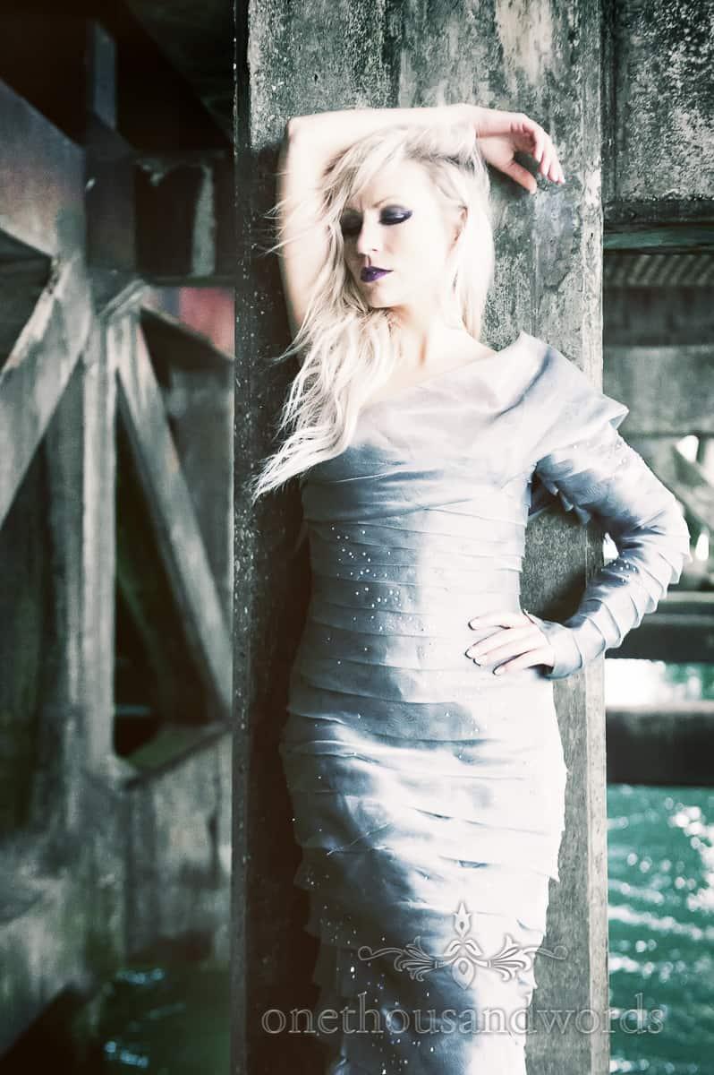 Helleborewedding dress photographs