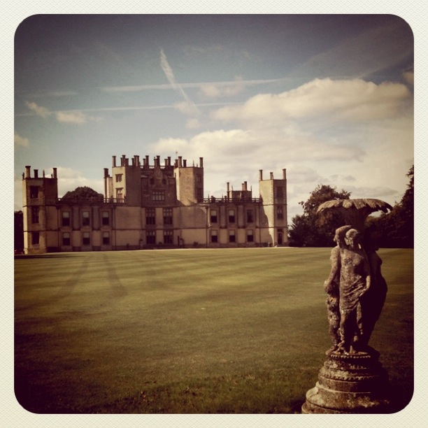 wedding at Sherborne castle