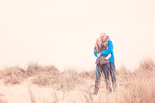 Seaside Engagement Photographs in Dorset with Vicki & Dan
