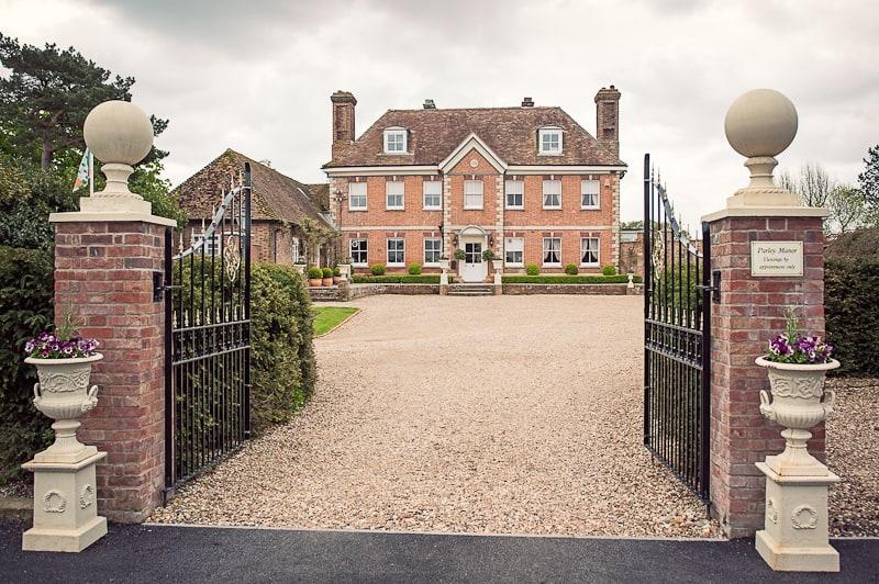 Parley Manor Photographs at Wedding Venue Visit