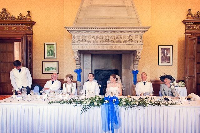 Wedding photograph of best mans speech at Elmers Court Hotel