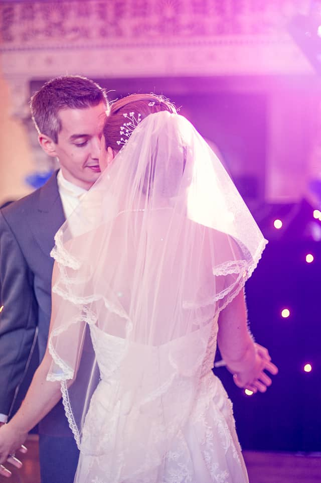 First Dance at Elmers Court Hotel wedding venue in New Forest