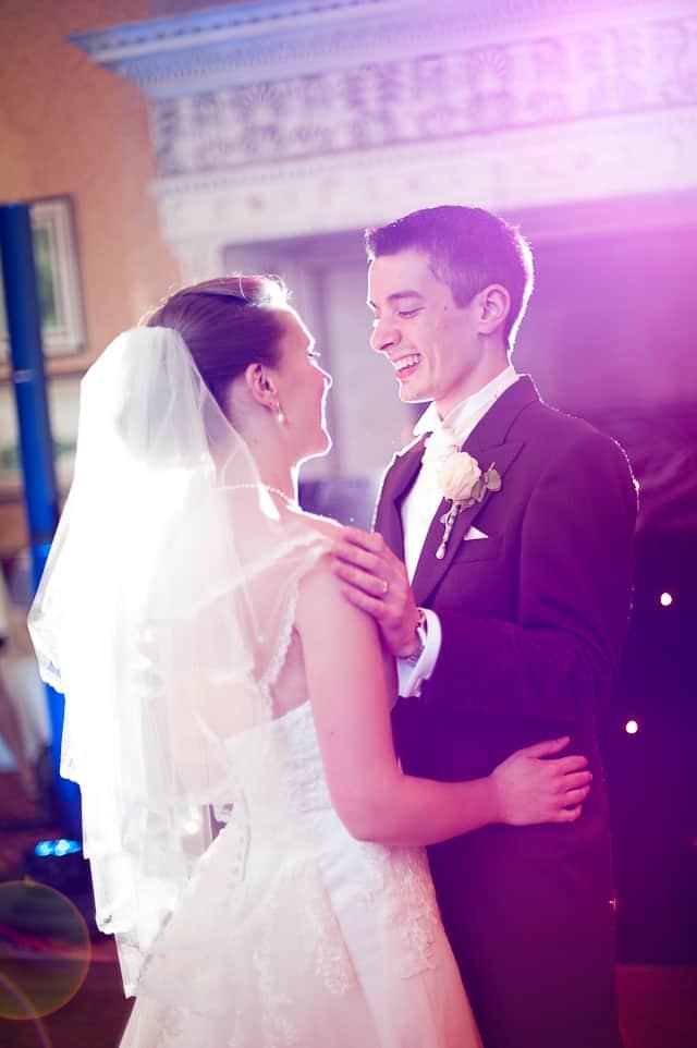 First Dance at Elmers Court Hotel Wedding