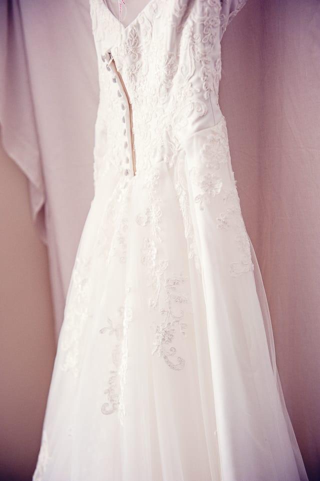 wedding dress chosen for Elmers Court Hotel Wedding