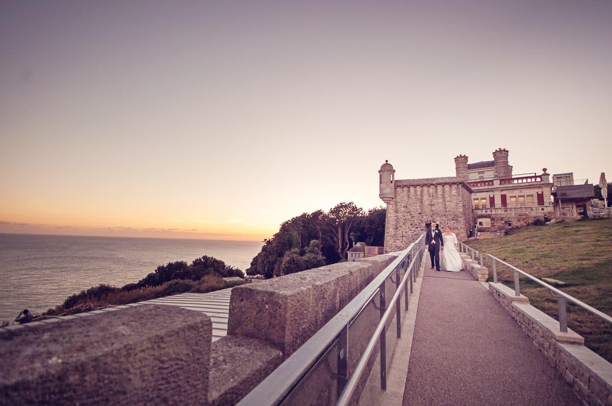 wedding photographer at durltson castle dorset