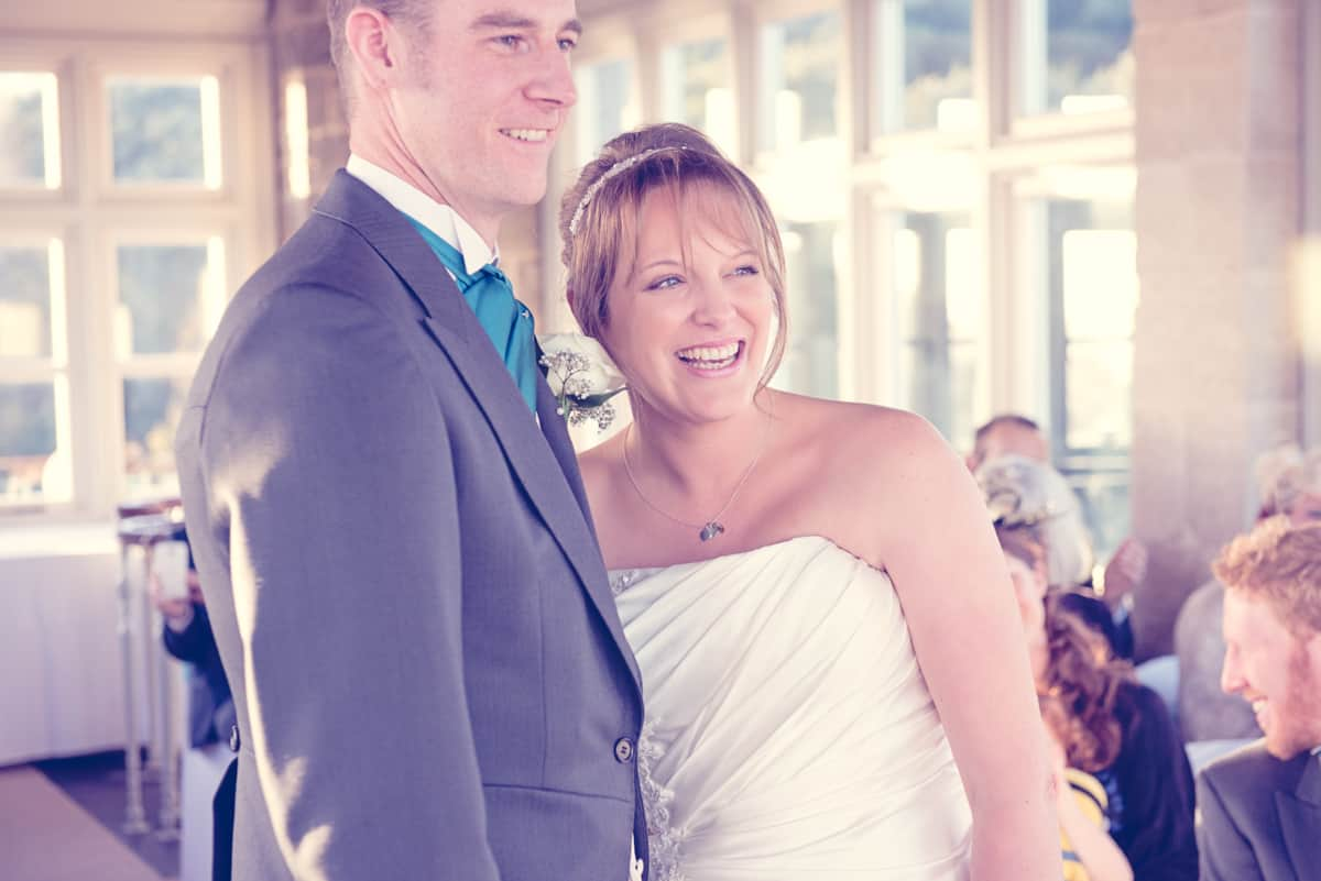 Swanage Castle Wedding Photographs with Jim & Jane
