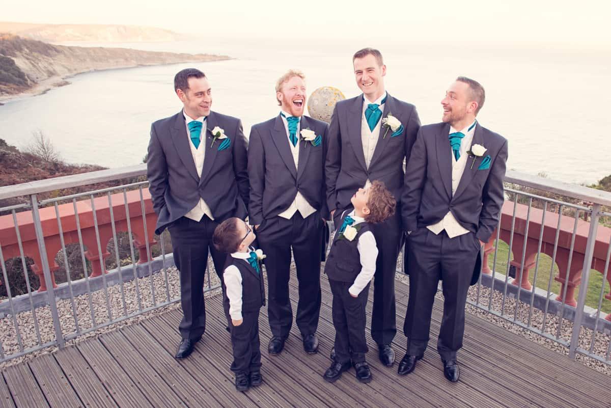wedding photographer dorset group photograph