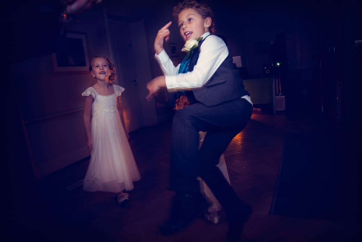 Documentary wedding photographer dorset wedding dancing