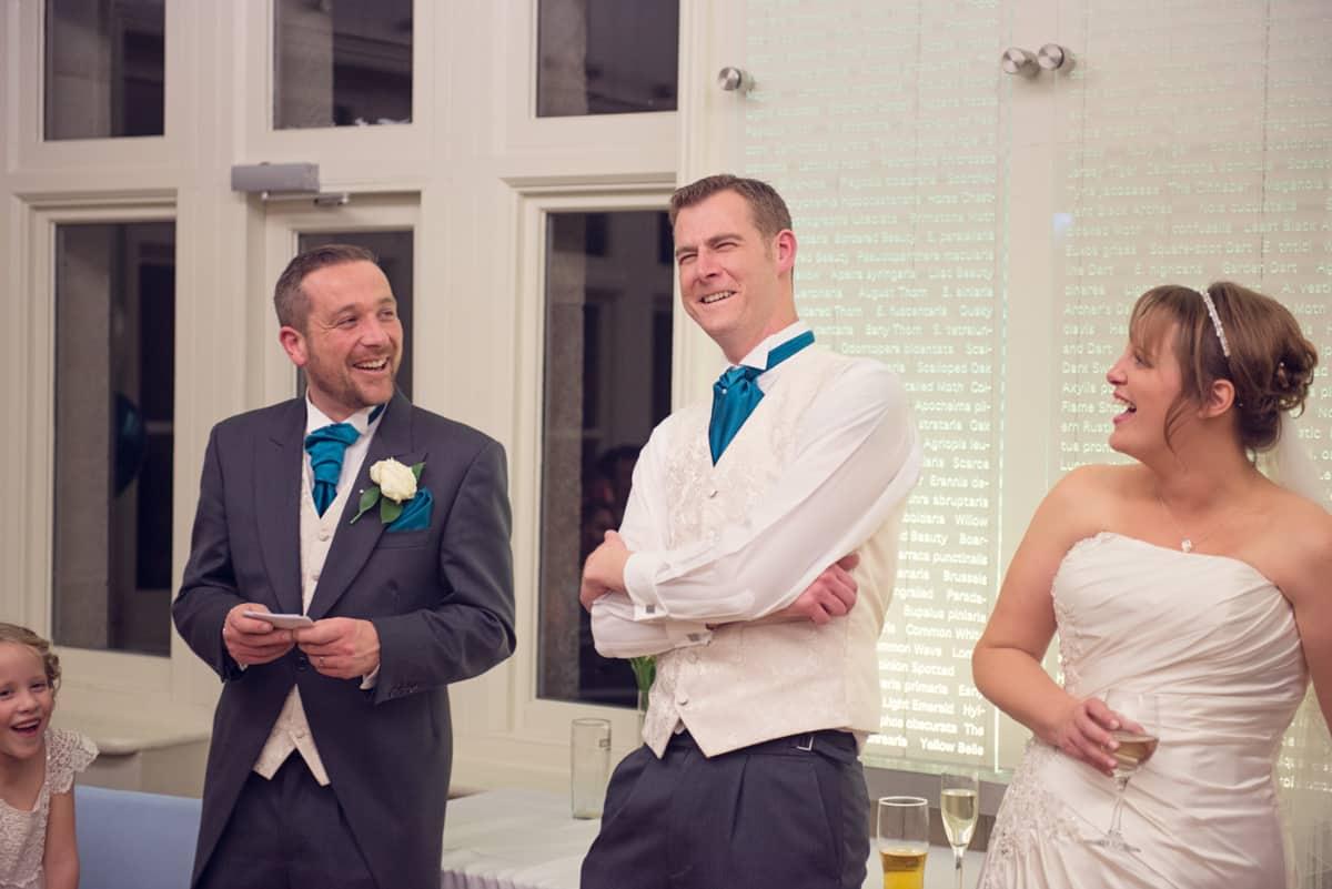 documentary wedding photographer capture speeces at dorset wedding venue