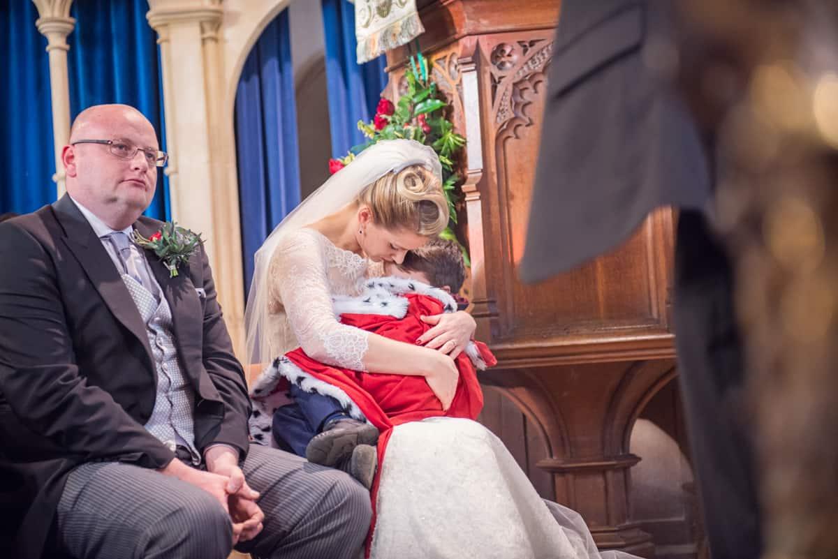 Wedding photographers in Hampshire at Hampshire church wedding
