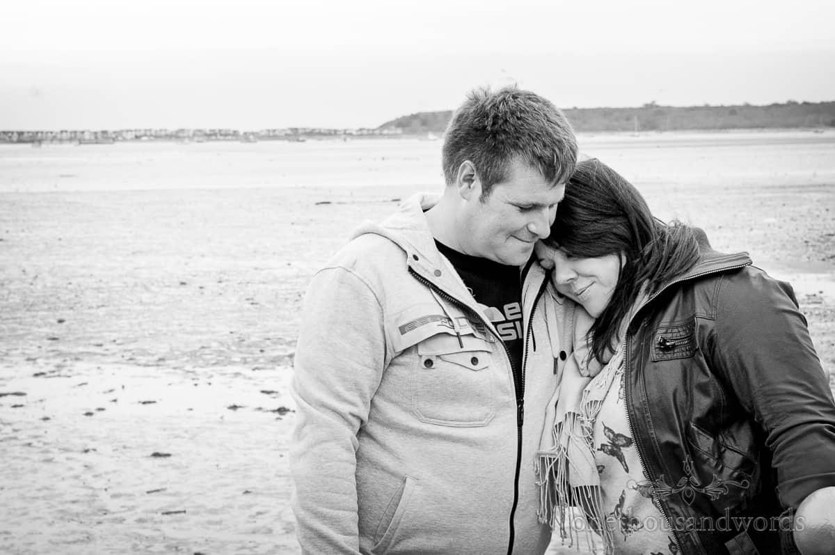 Christchurch Engagement Photographs at Christchurch Harbour Hotel