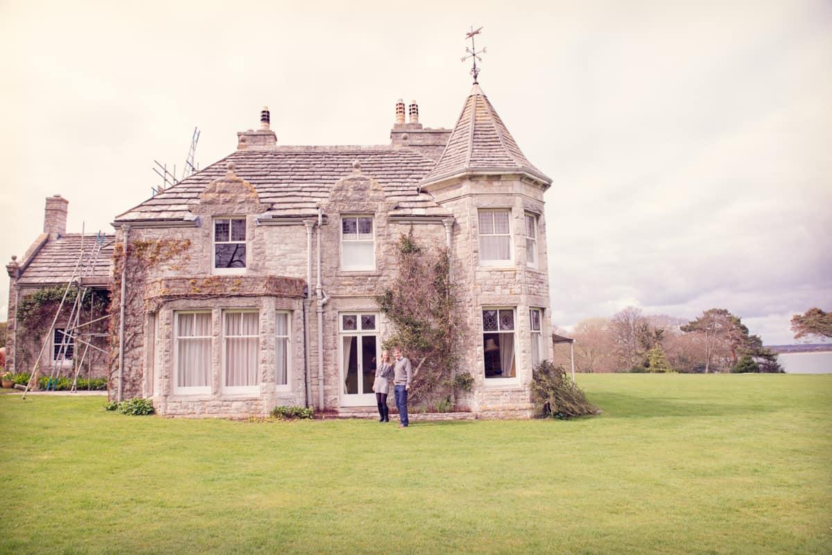 Harry warren house wedding pre shoot in studland dorset for The warren house