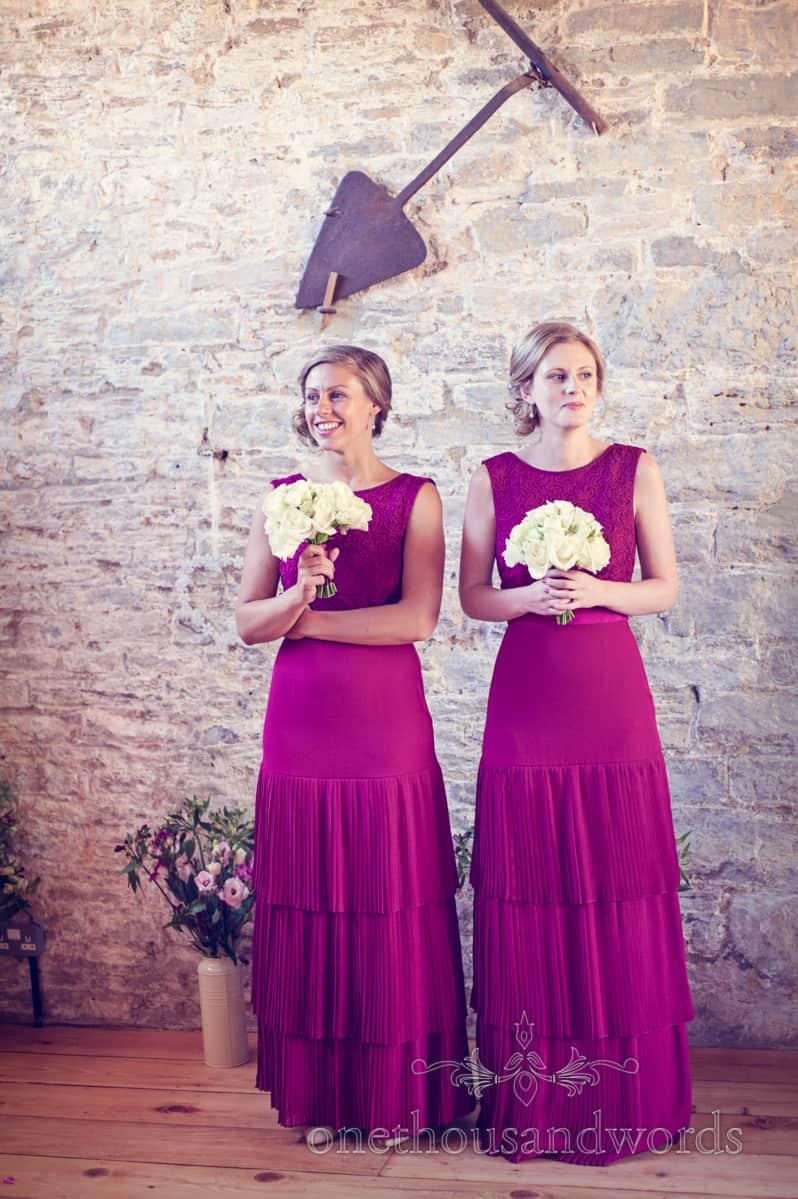 Bridesmaids at Kingston Country Courtyard