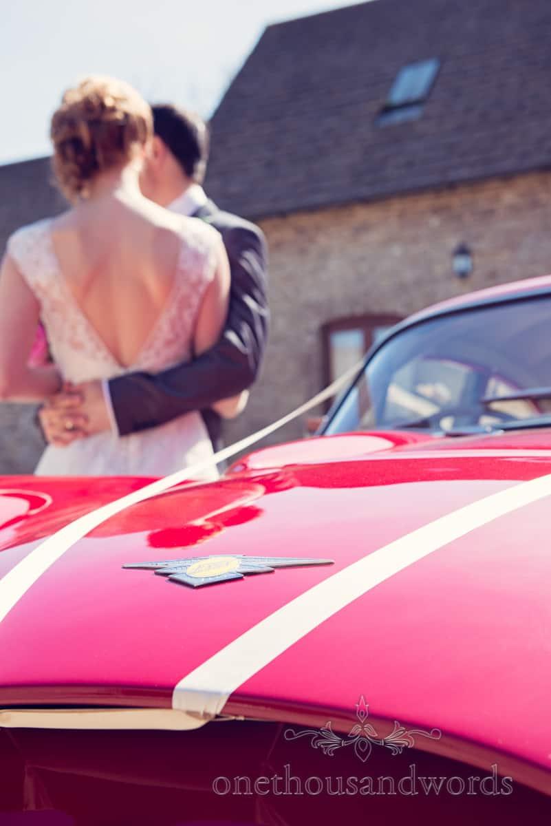 Jenson wedding car