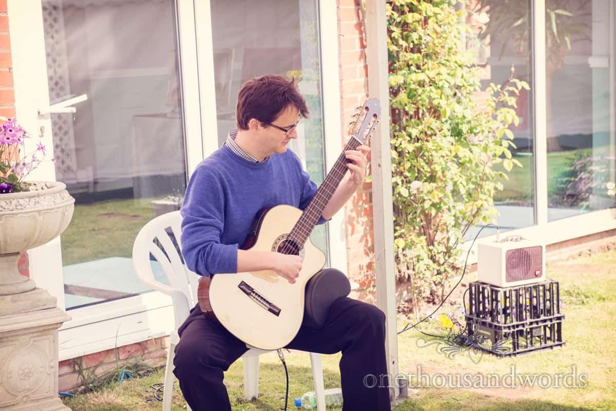 wedding guitarist, Dorset
