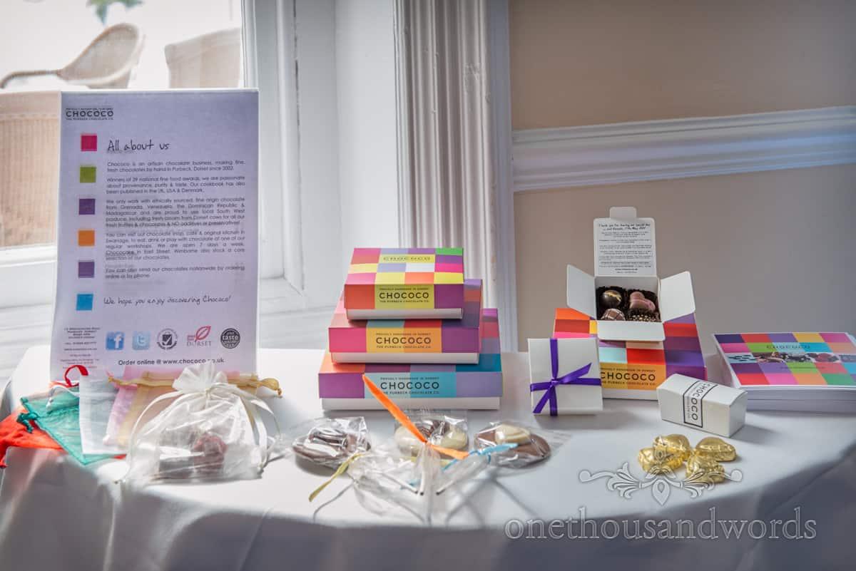 chococo wedding chocolates