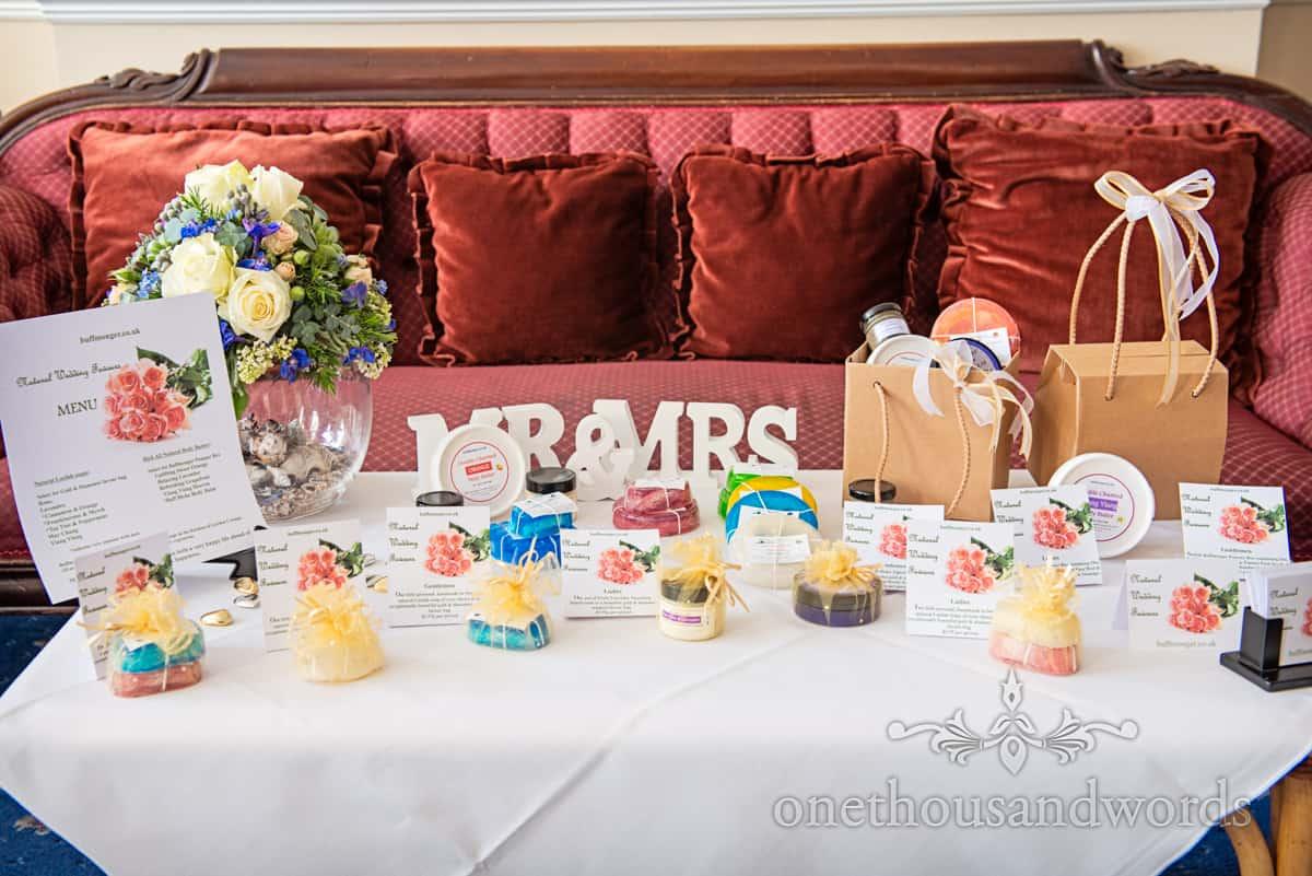buffmonger wedding favours