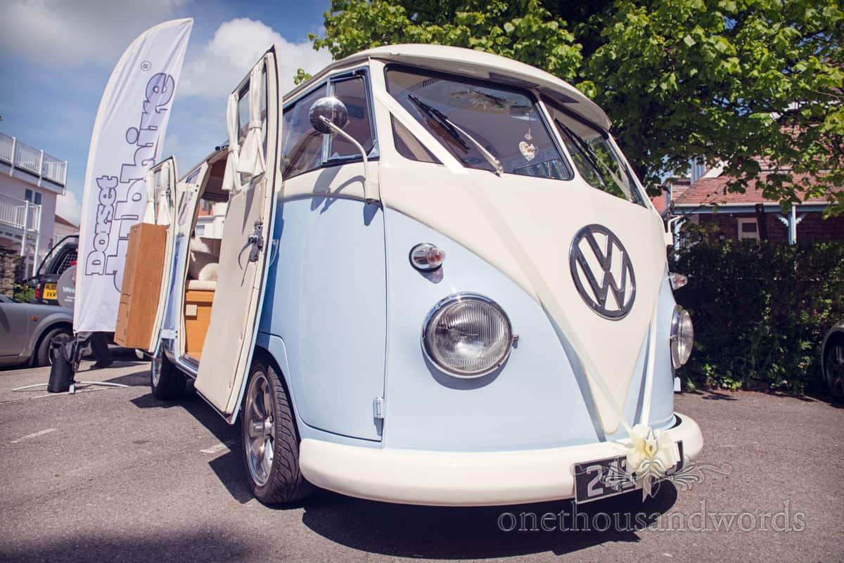 VW wedding Transport Dorset