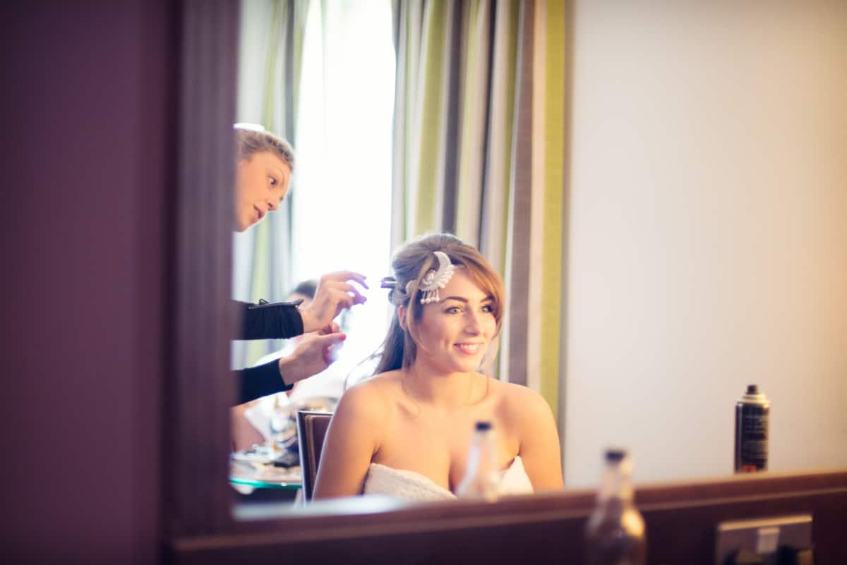 bride in morning at Norton Hotel Park