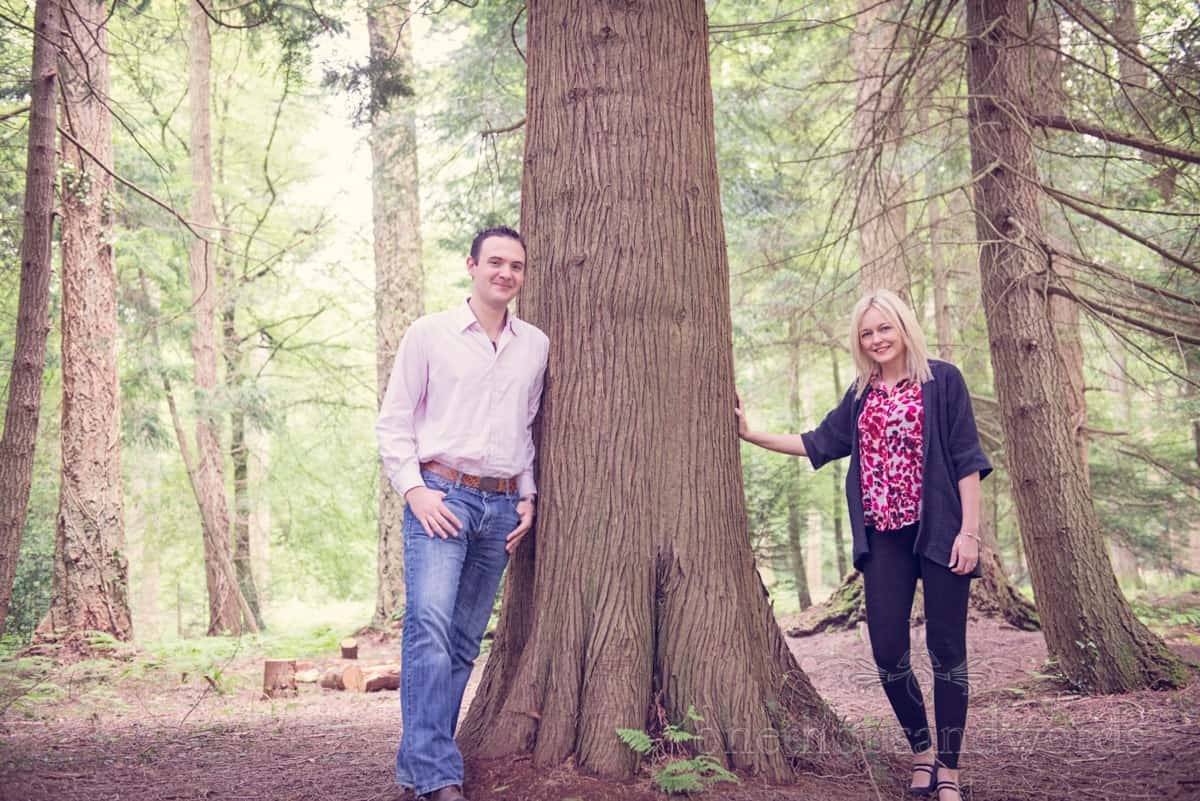 New Forest Woodland Engagement Photographs