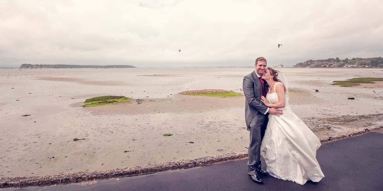 Wedding photographers Poole Sandbanks