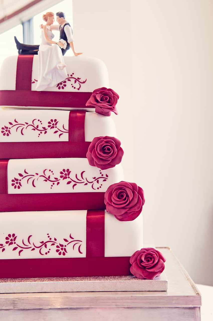 Harbour Heights wedding cake