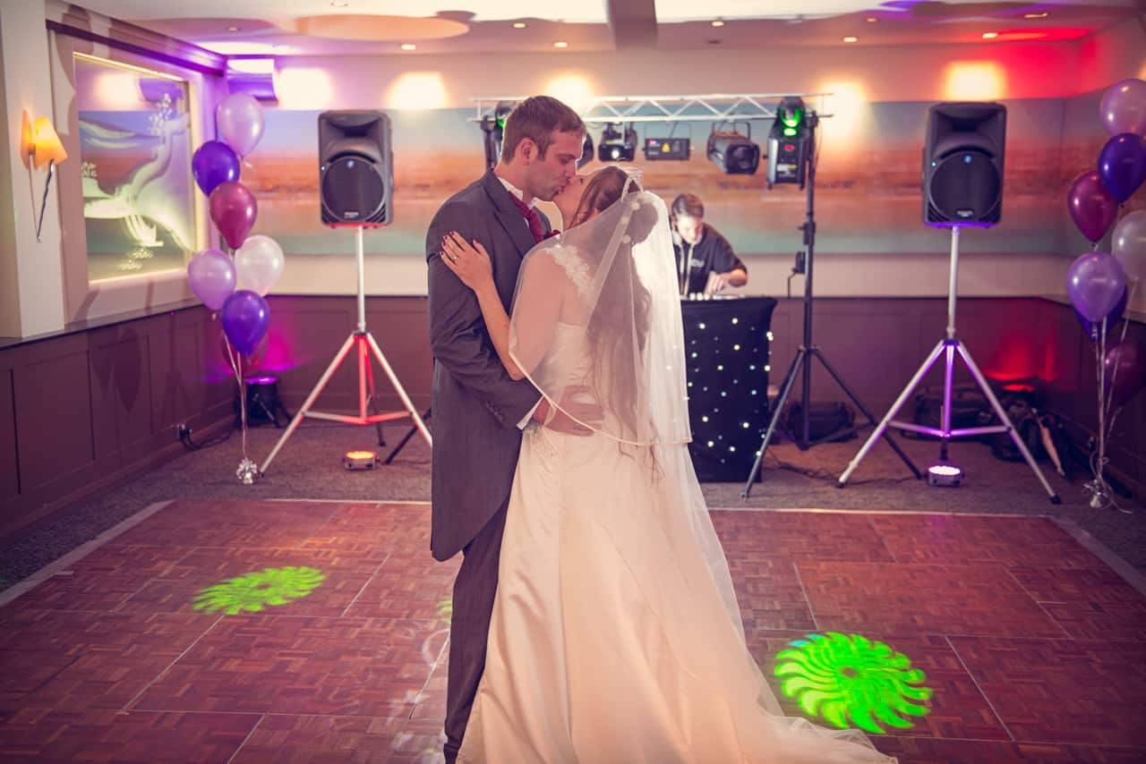First Dance at Harbour Heights Wedding