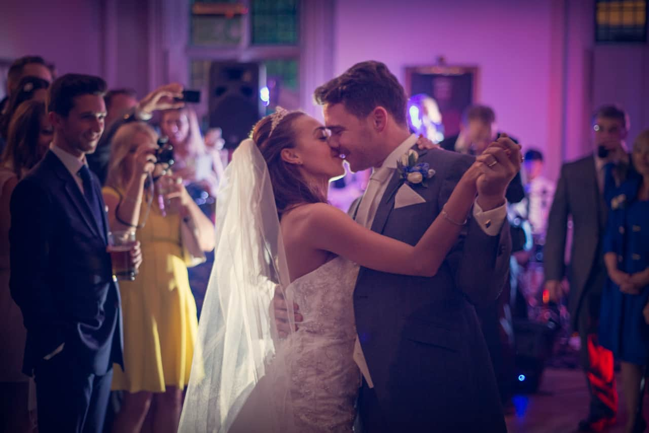 First Dance at Rhinefield House wedding