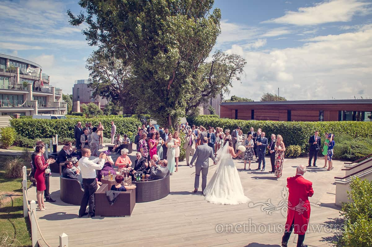 Christchurch Harbour Hotel Wedding reception