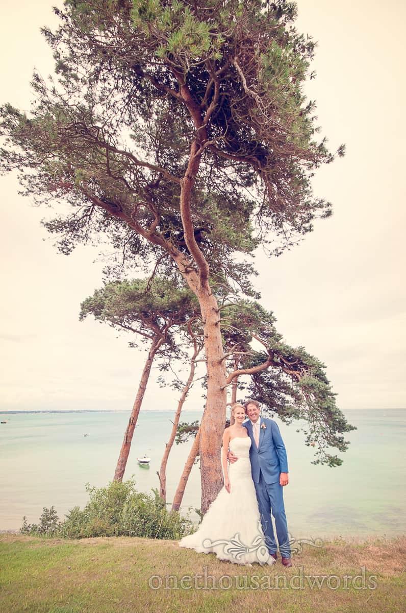 Studland wedding photograph