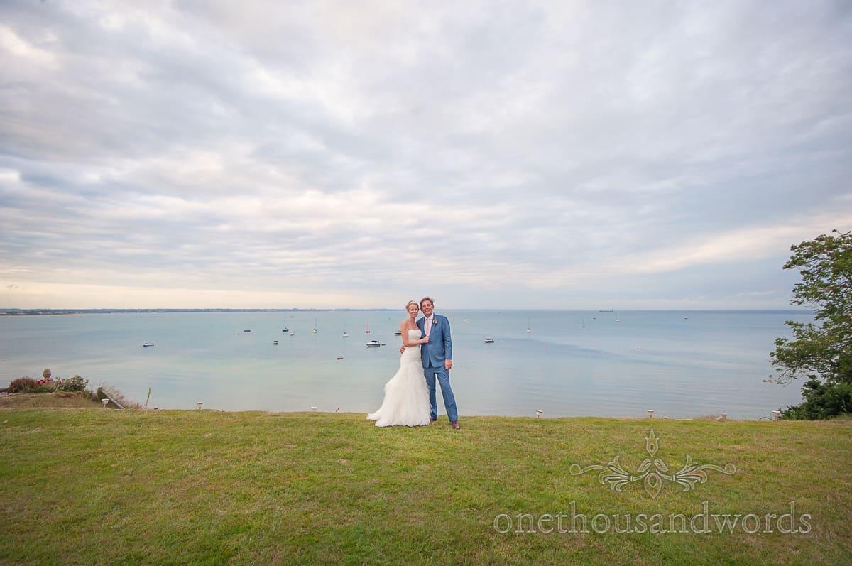 Seaside wedding in Dorset