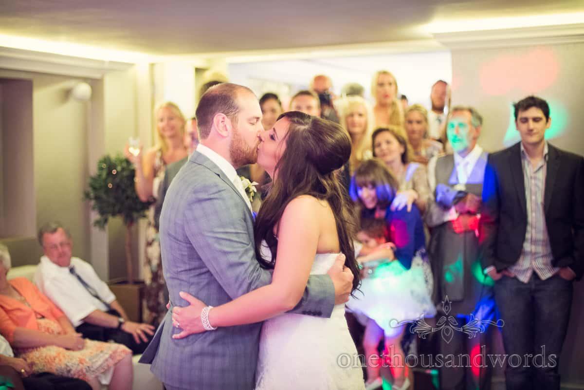 First dance at Christchurch Harbour Hotel