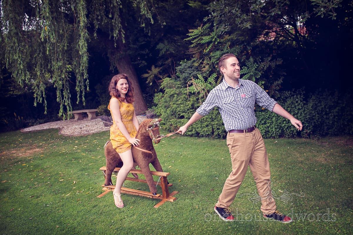 London Engagement Photoshoot With Simon and Octavia
