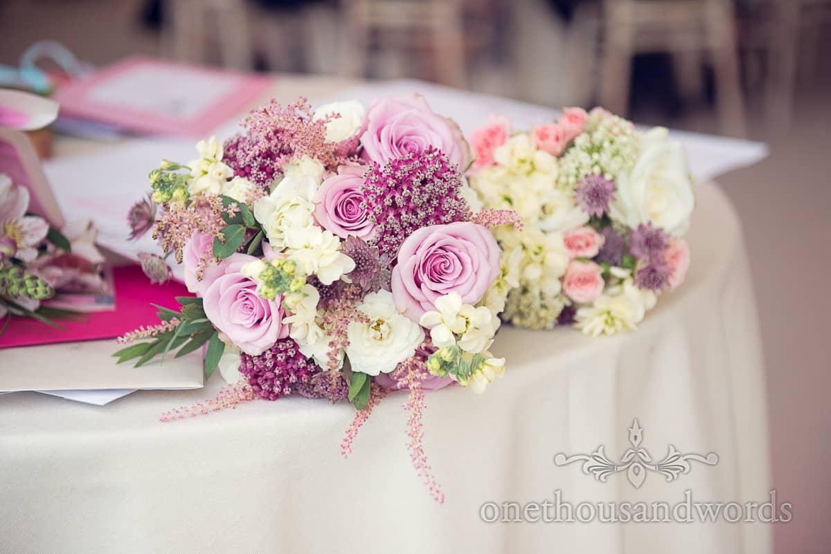 Wedding flowers in Dorset