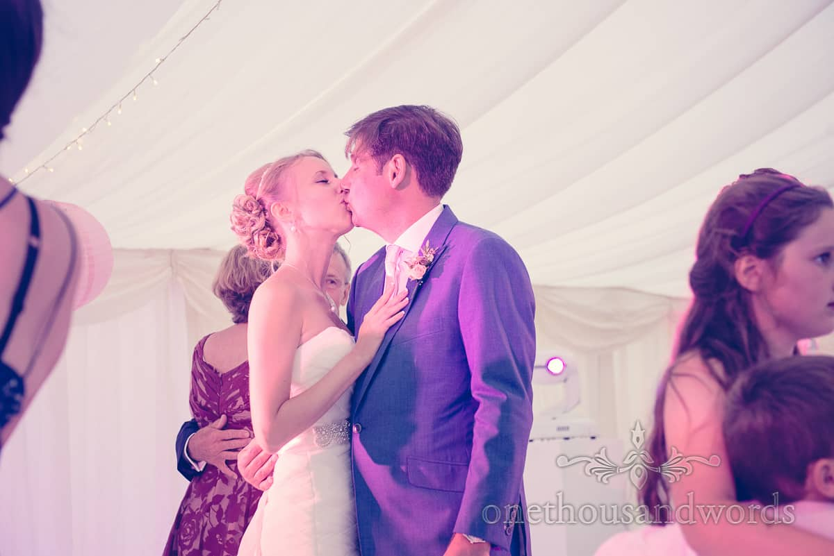 Wedding dancing at Harry Warren House, Studland