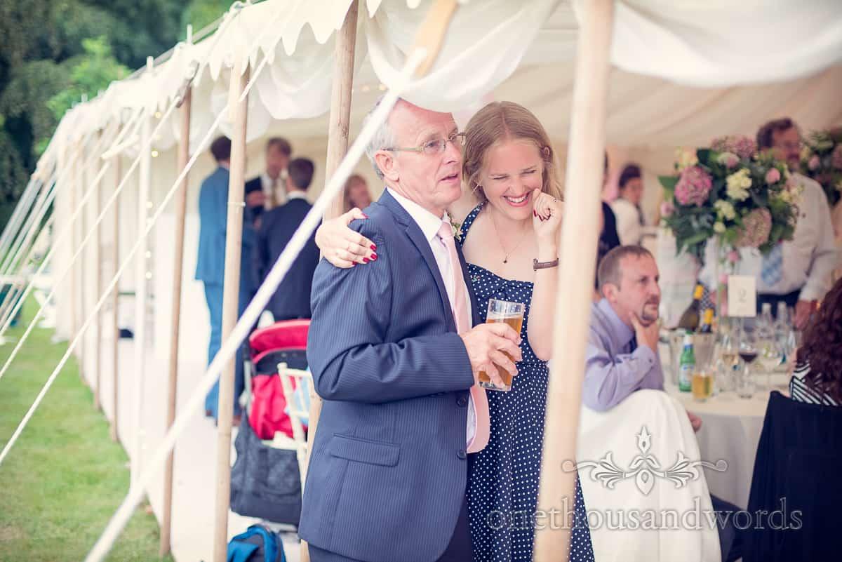 wedding guests at Harry Warren House