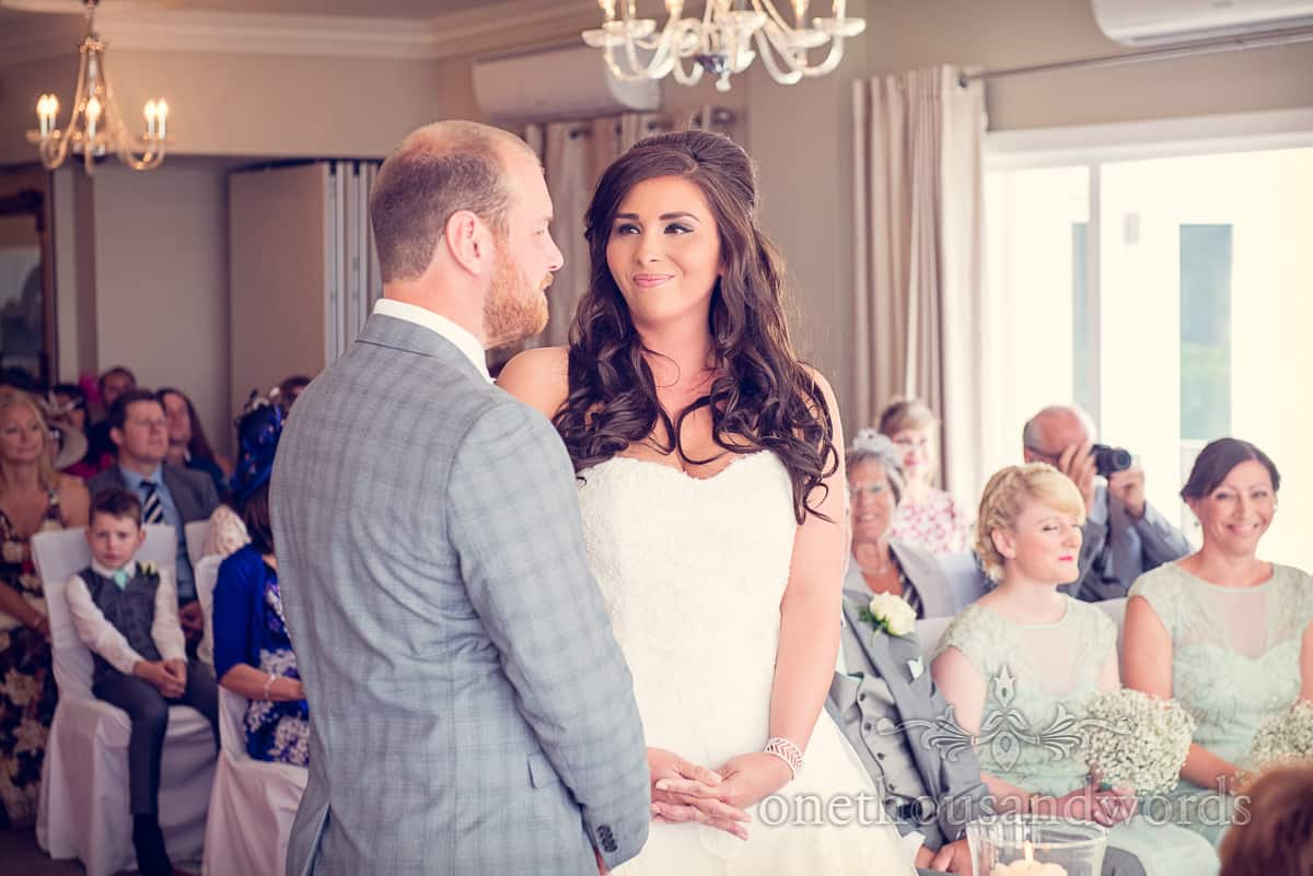 Christchurch Harbour Hotel Wedding Ceremony