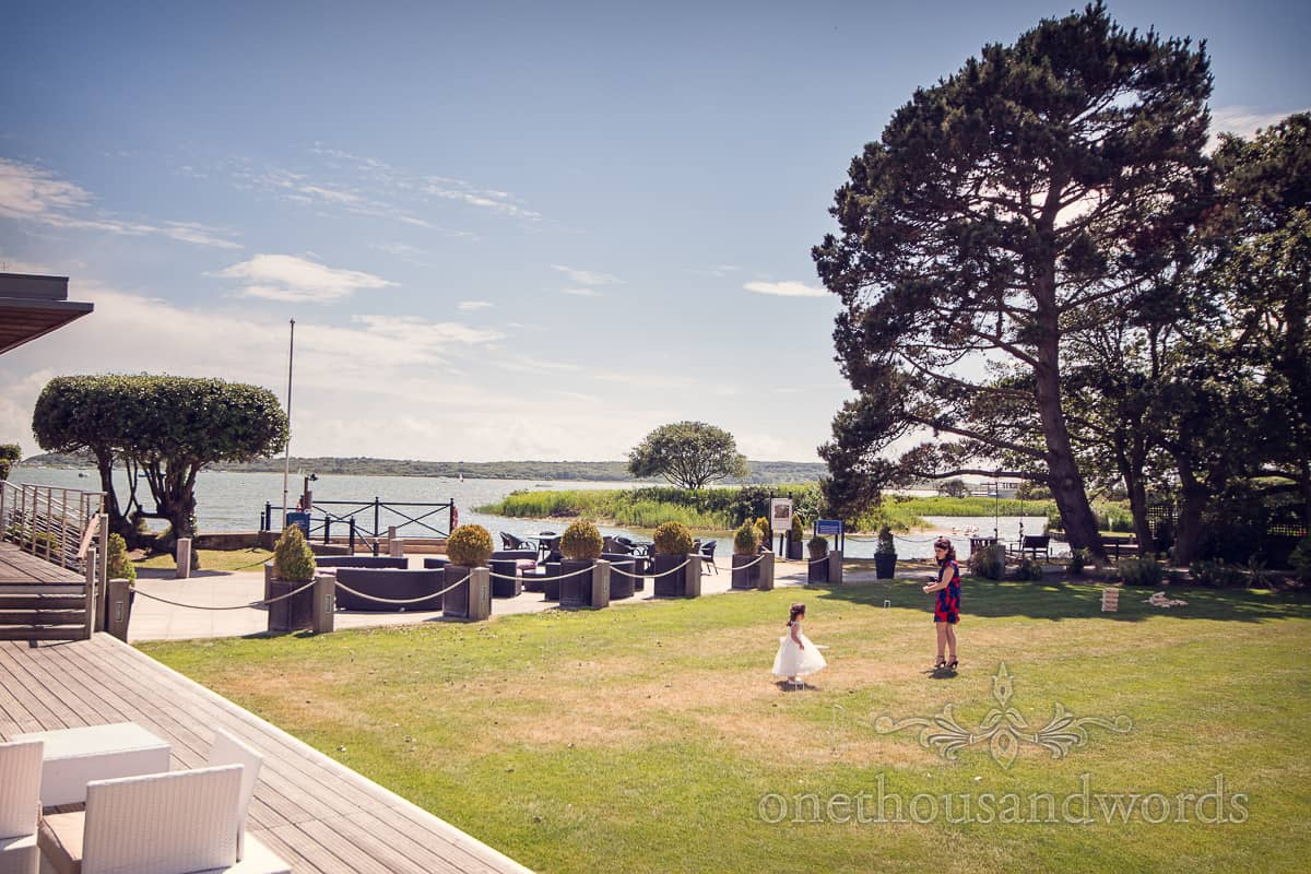 Christchurch Harbour Hotel garden