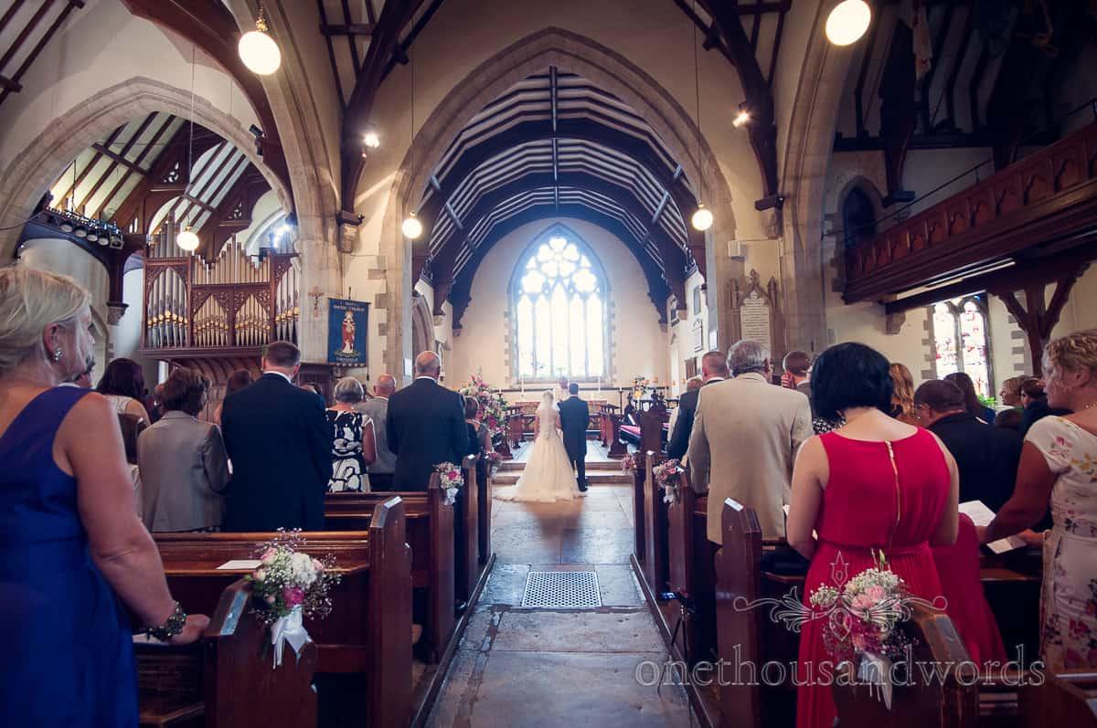 St Marys Swanage Wedding photo