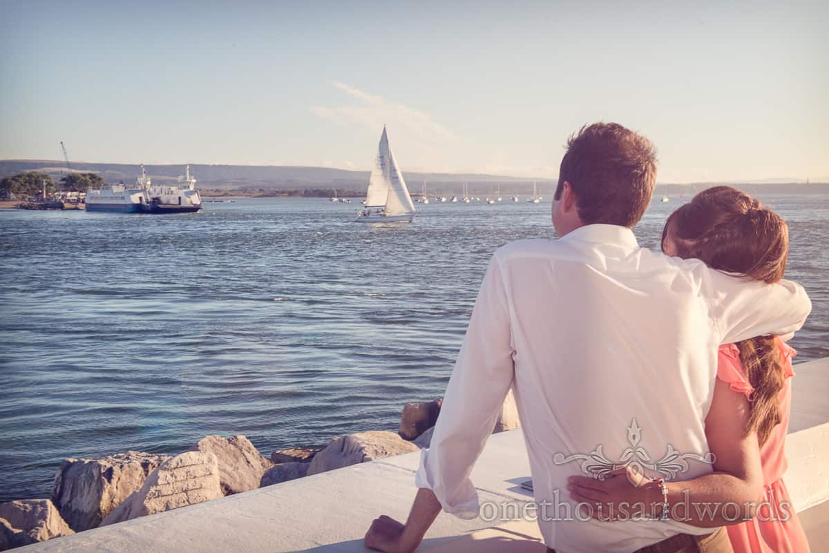 Seaside Wedding – Julie and Marc's Engagement Photo Shoot