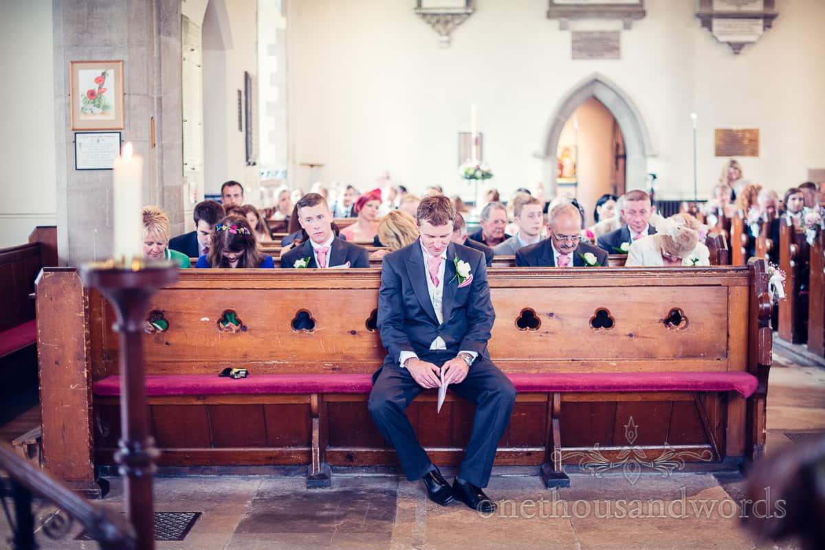 St Marys Swanage Wedding Best Man