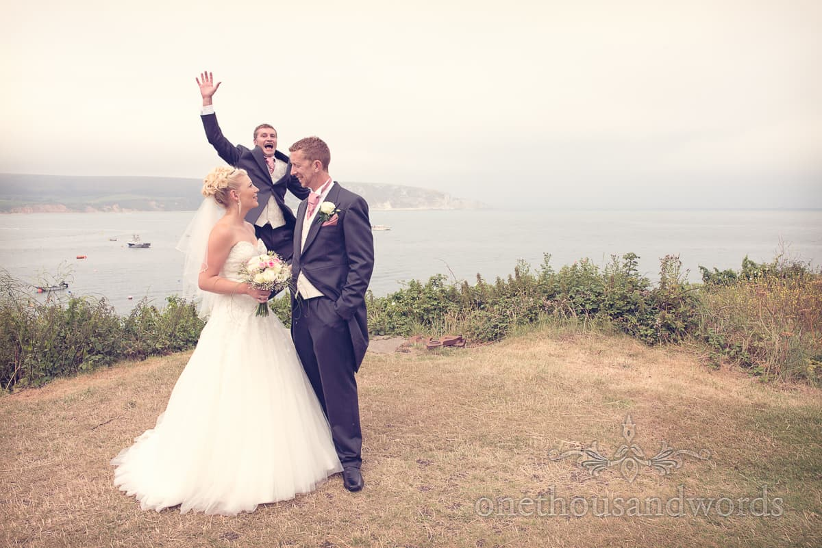 Swanage wedding photograph