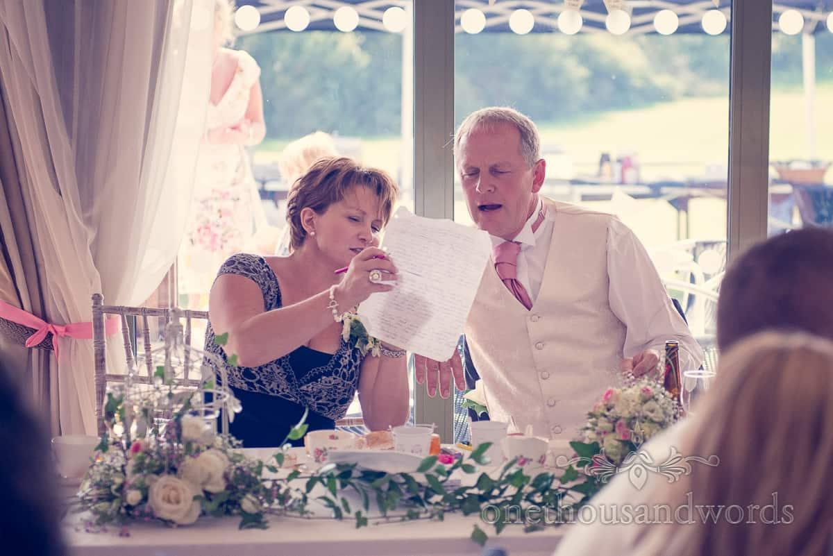 Harmans Cross Village Hall Wedding speeches photographers