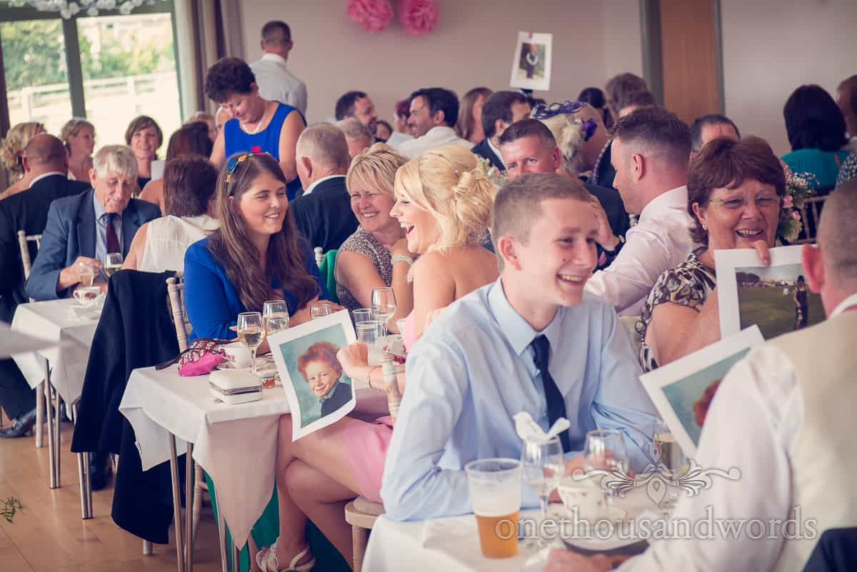 Harmans Cross Village Hall Wedding speeches photography