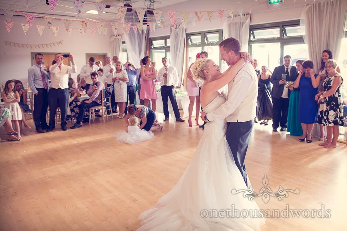 Harmans Cross Village Hall Wedding First Dance