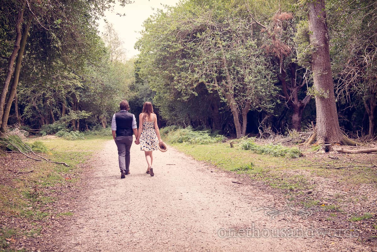 Woodland Engagement Photographs Becky And Chris