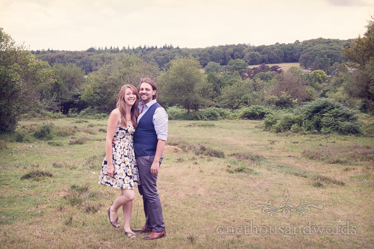 Woodland Engagement Photographs in The New Forest