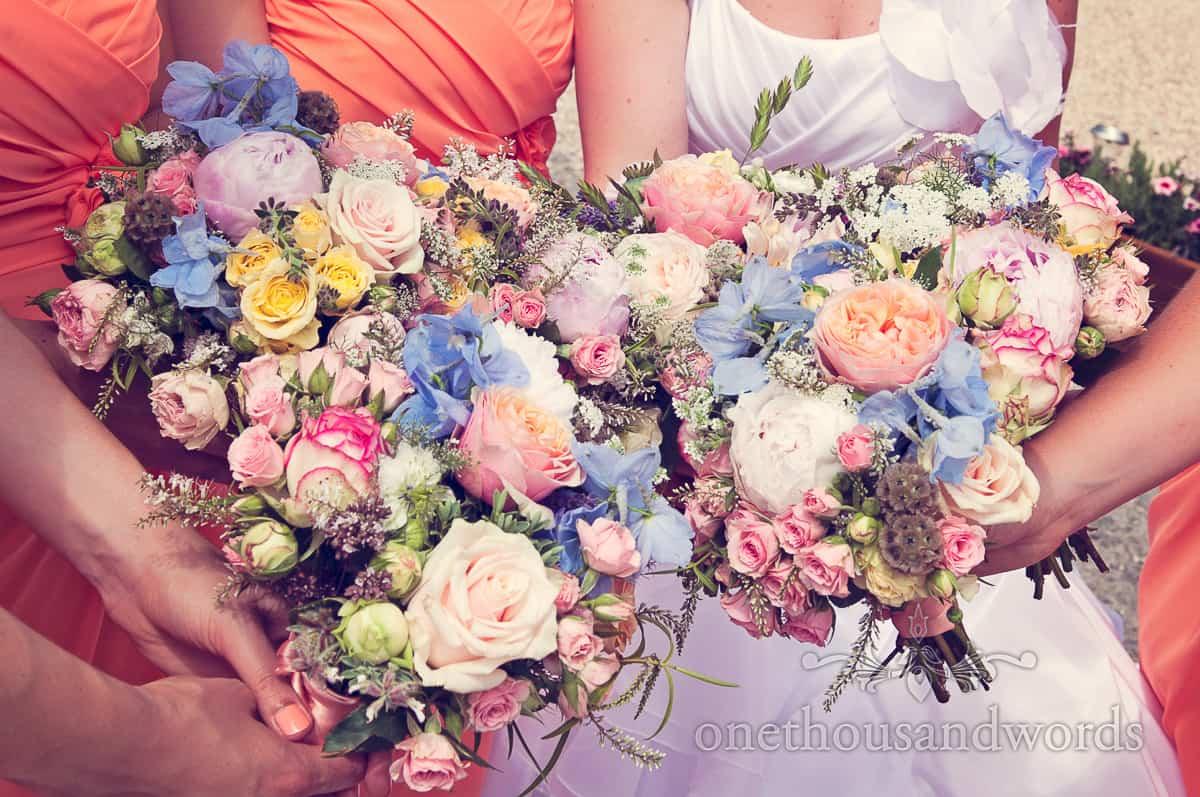 Wedding flowers near Sherborne