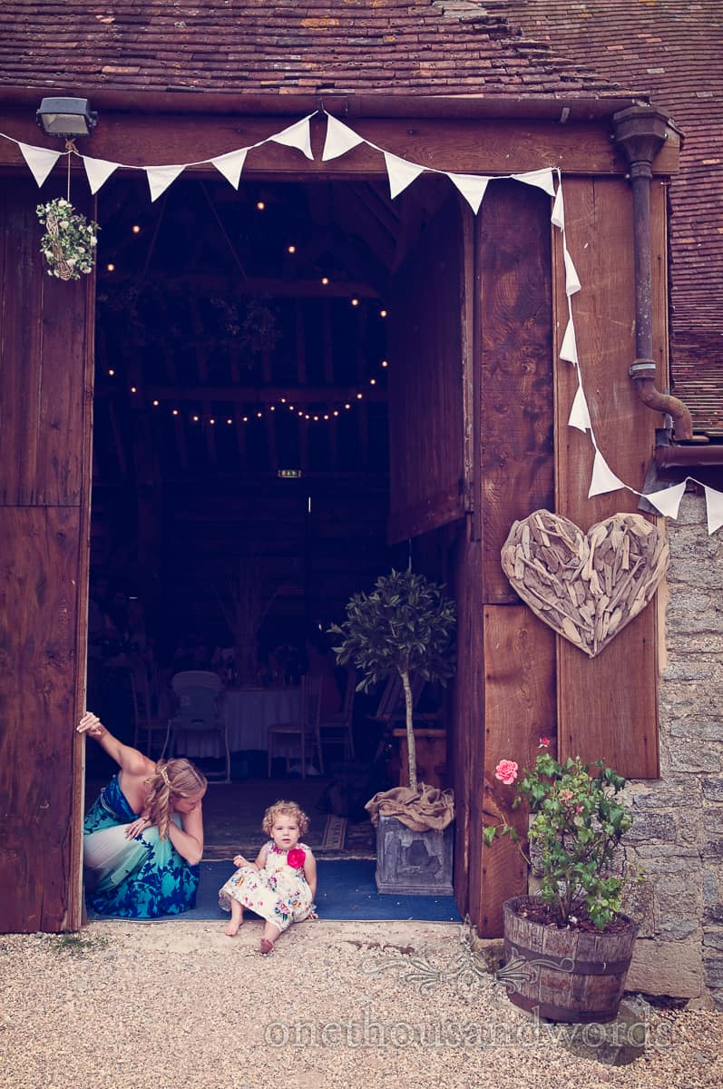 Wedding photographers at Stockbridge Farm Barn
